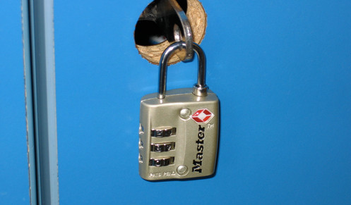 Don't forget to bring your own lock!