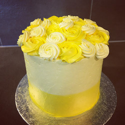 Flowers cake - mangue