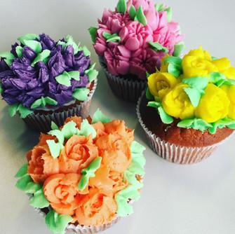 Flower cupcakes Jays Cakes