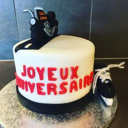 Birthday Cake - Harley Davidson