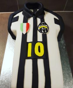 Gâteau d'anniversaire - Juventus