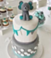 Gâteau babyshower Jay's Cakes Lausanne