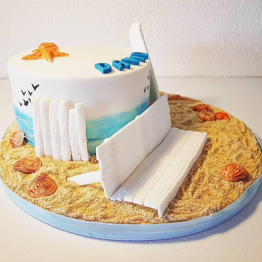 Gâteau d'anniversaire - Océan