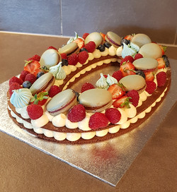 Number cake - Jay's Cakes