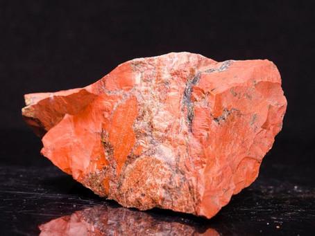 Reiki Healing Crystals - RED  JASPER