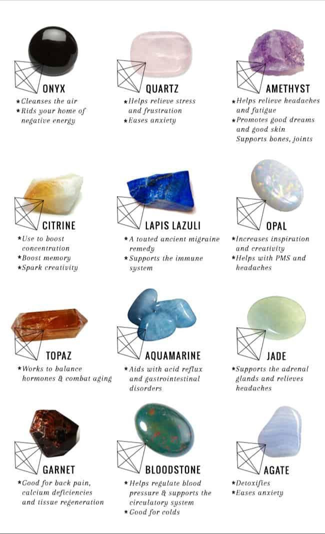 The 12 best Healing Reiki Crystals