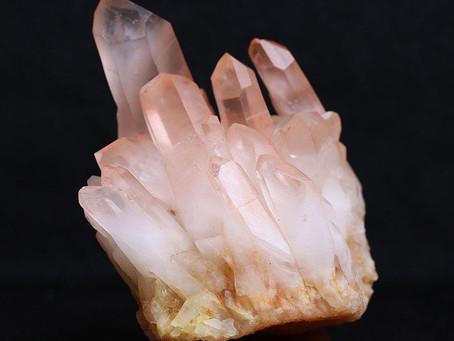 Reiki Healing Crystals -  LEUMARIAN SEEDED CRYSTAL