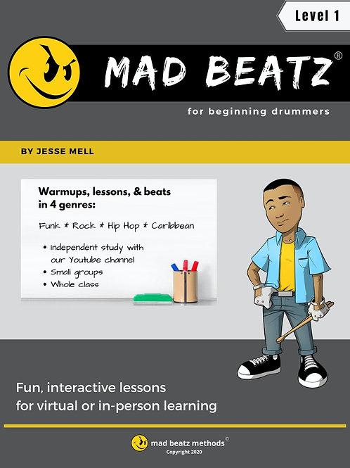 Mad Beatz for Beginning Drummers
