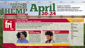 Earth Week 2020   Women in AG   Cannabis & The Future - Apr. 24, 2020