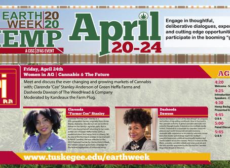 Earth Week 2020 | Women in AG | Cannabis & The Future - Apr. 24, 2020