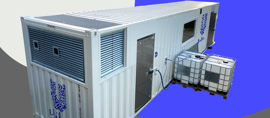 Fast Company :Unilever's new nano-factories fit in a shipping container, so they can go anywhere in