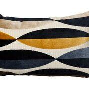 Eclipse Spear Cushion, Navy
