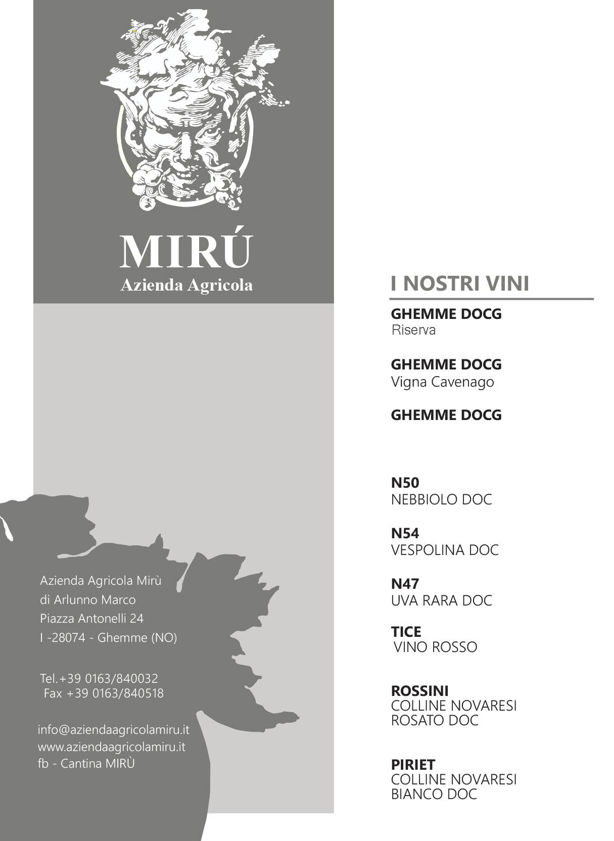 Degustazione Mirú Experience