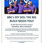 HOLMFIRTH WI PROVIDES BBC DIY SOS WITH CAKE!
