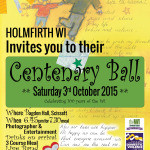 Holmfirth WI Ball Saturday 3rd October 2015