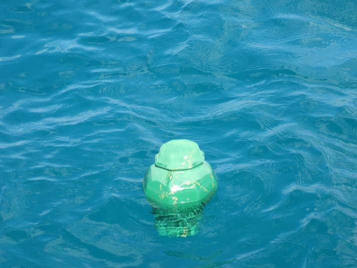 Biodegradable Urn for burials at sea