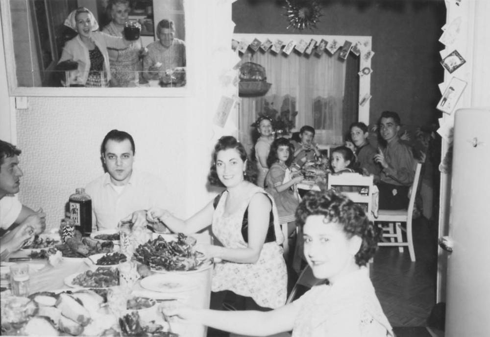 Circa 1960 Kid's Table