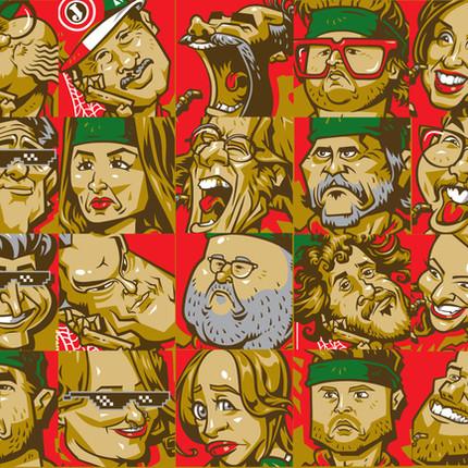 Caricatures - Polar - Caricaturas Baguais