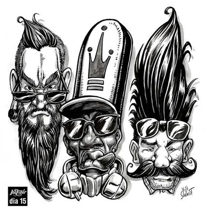 Ink drawings 2015