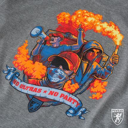 T-Shirt - No Ultras * No Party
