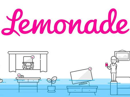 Lemonade Start - Up geht an die Börse