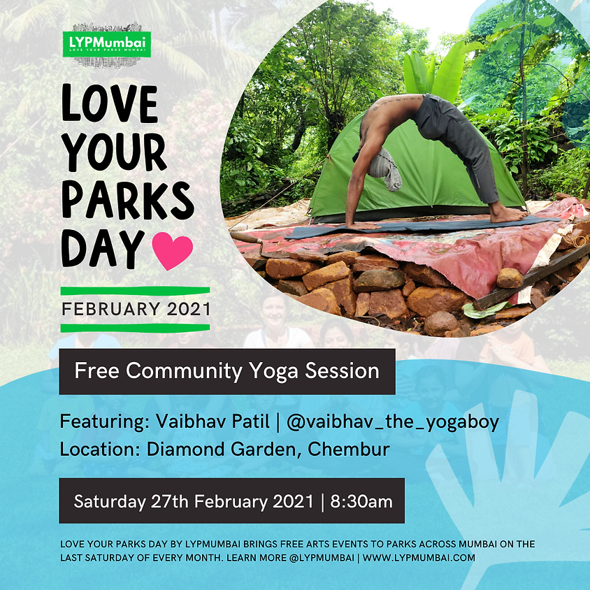 Love Your Parks Day February, Chembur