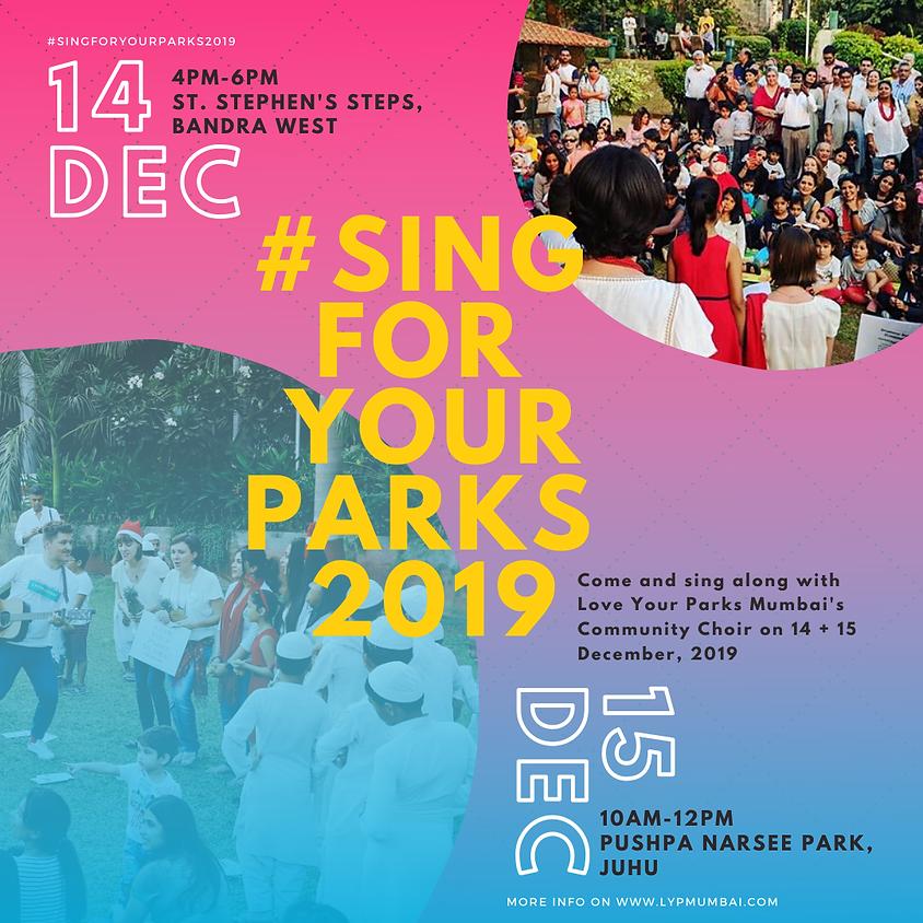 #SingForYourParks2019 Community Choir