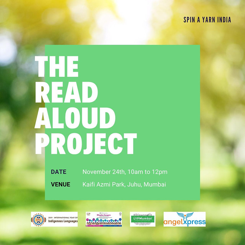 The Read Aloud Project with Spin A Yarn India