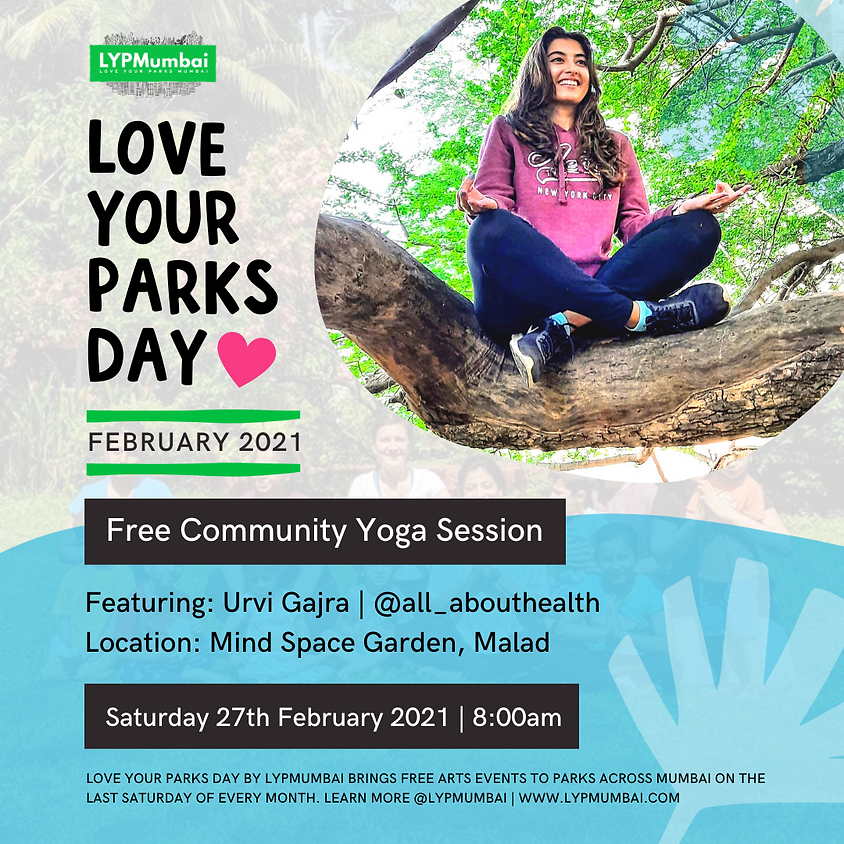 Love Your Parks Day February, Malad