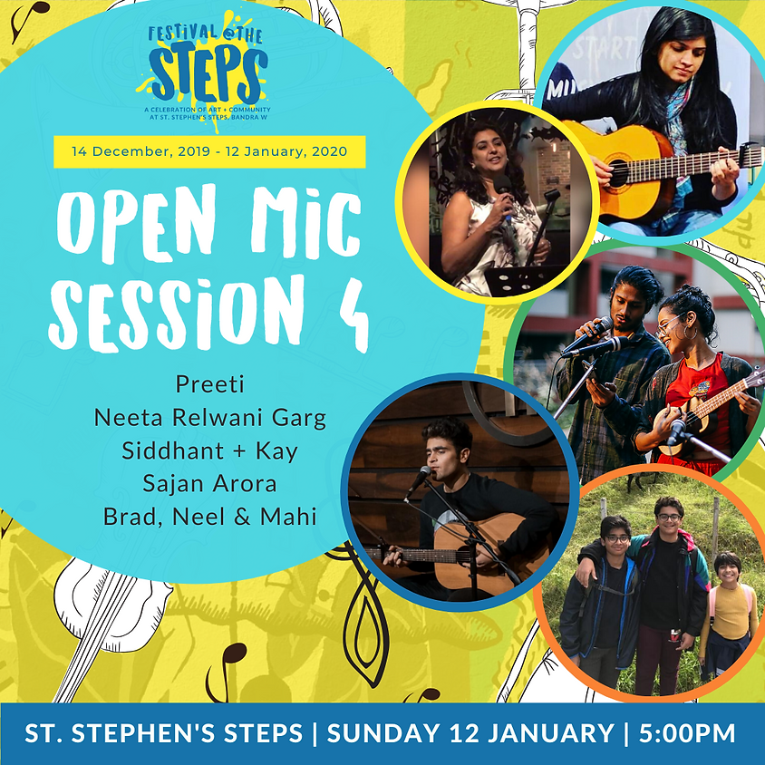 Open Mic Session 4