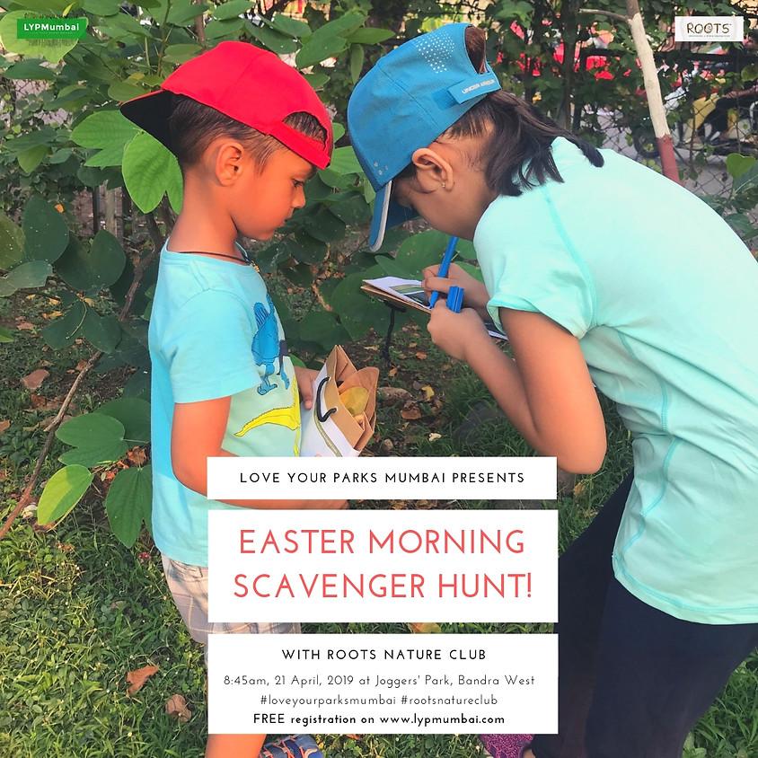 Easter Morning Scavenger Hunt
