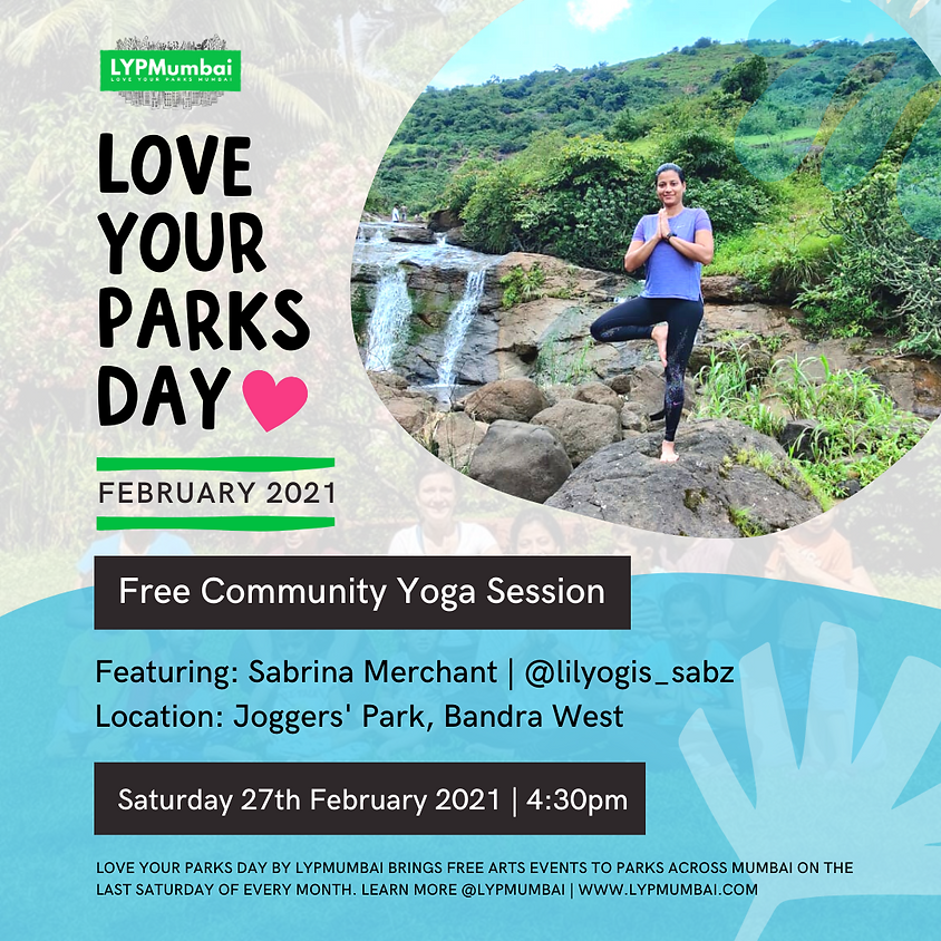 Love Your Parks Day February, Bandra