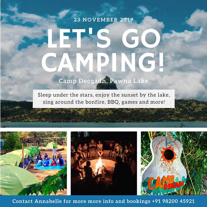 Let's Go Camping at Camp Deogadh, Lake Pawna!