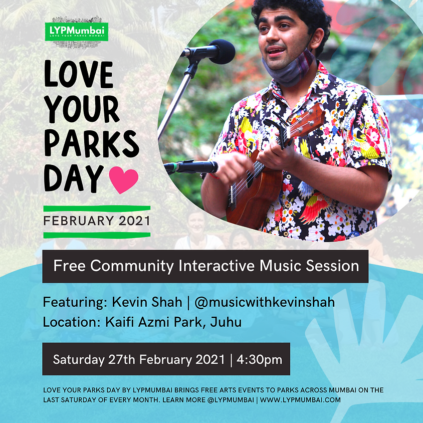 Love Your Parks Day February, Juhu