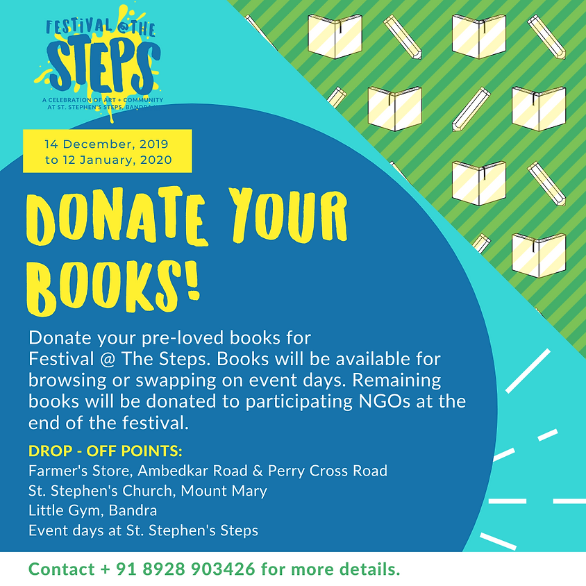 Donate Your Books!