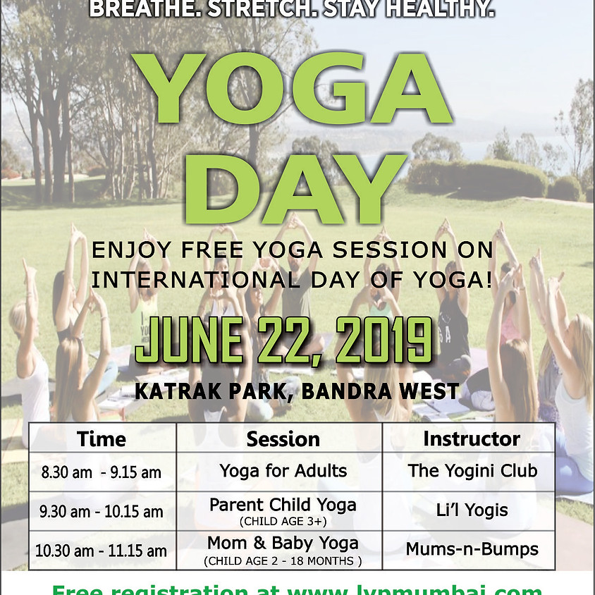 Yoga Day in the Park