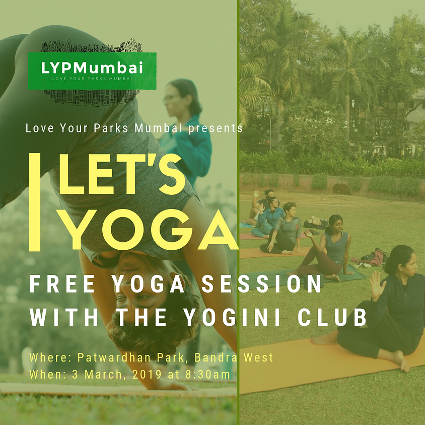 Let's Yoga with The Yogini Club