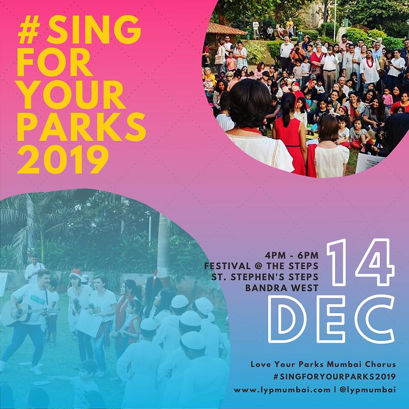 #SingForYourParks2019 at St. Stephen's Steps