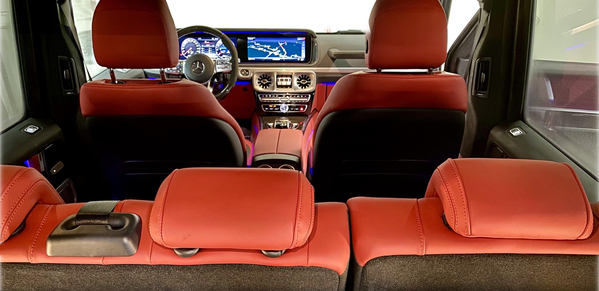 G63 Rear Passenger Compartment