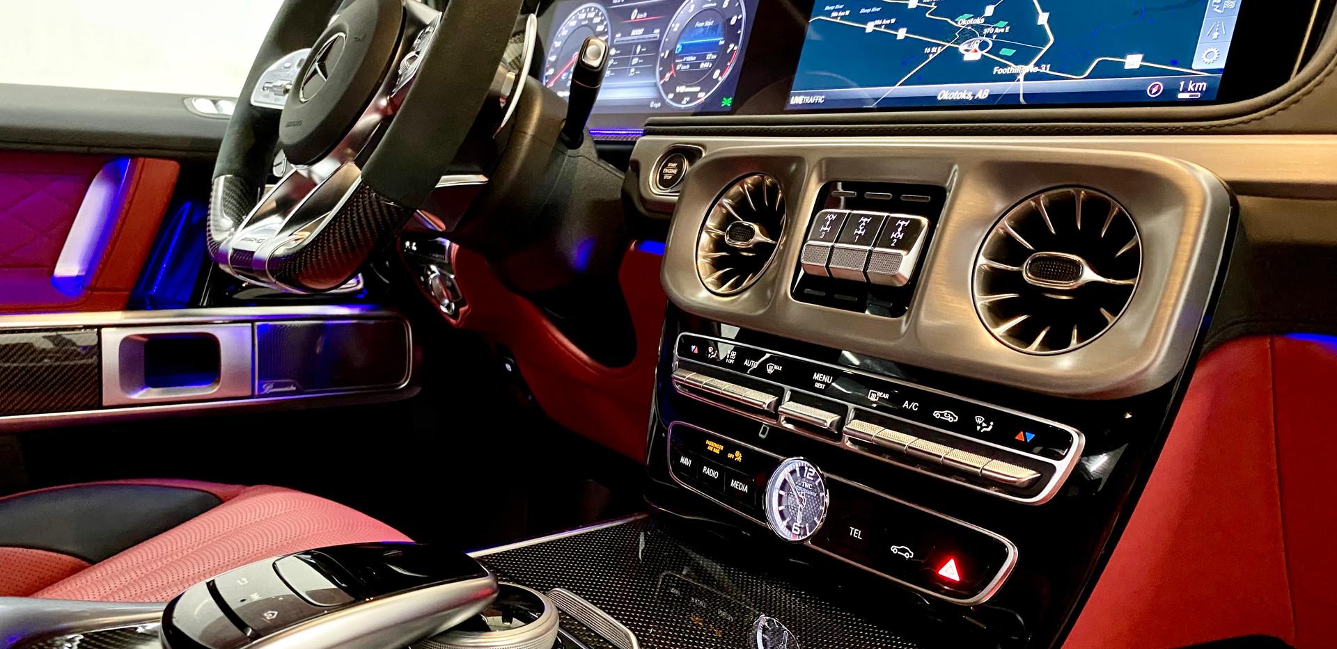 AMG G63 Front Interior