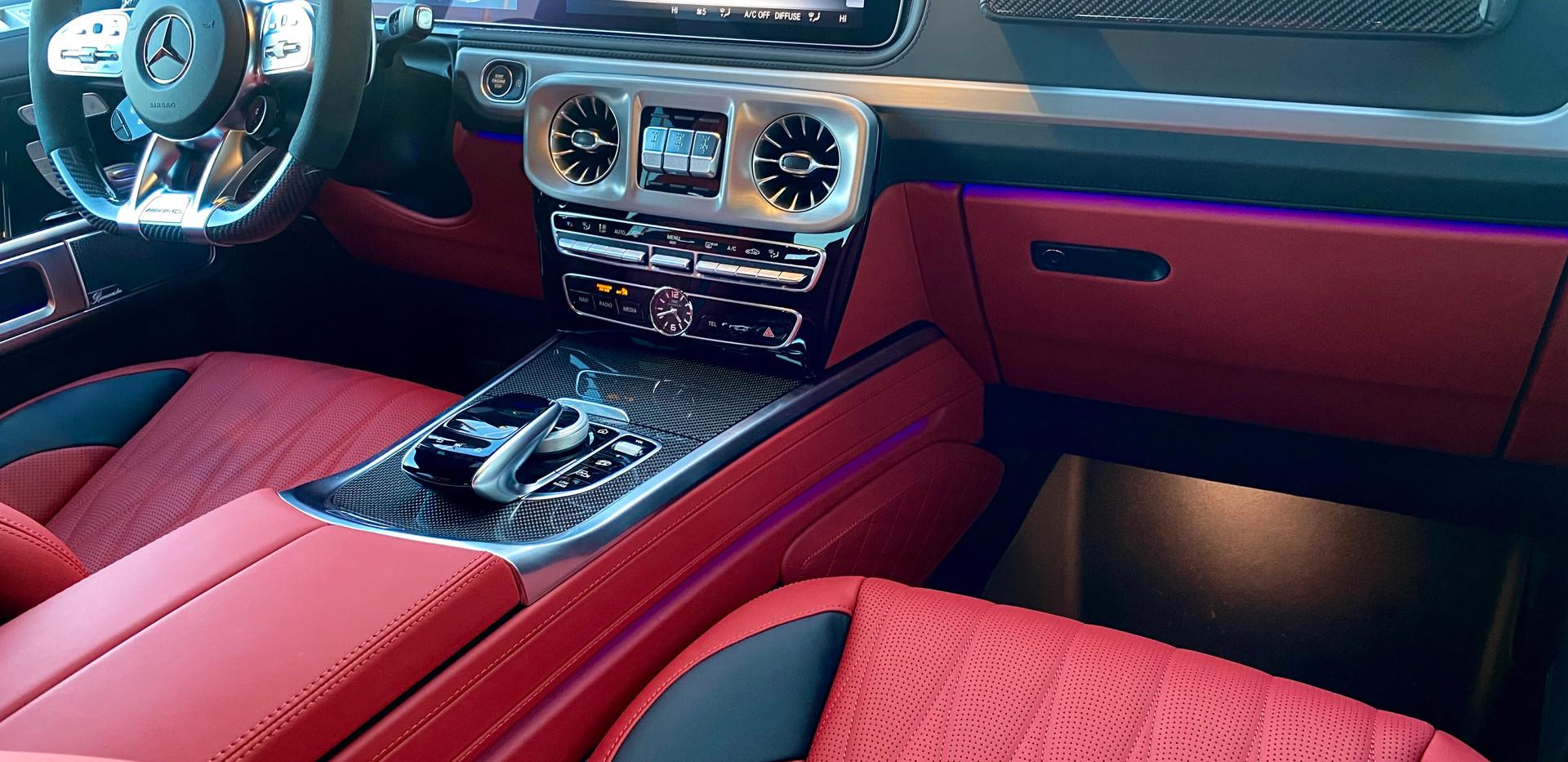 Front Interior G63