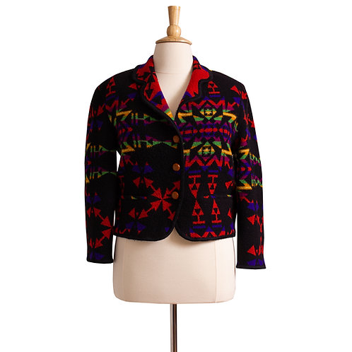 1980s Blanket Coat by United Colors of Benetton