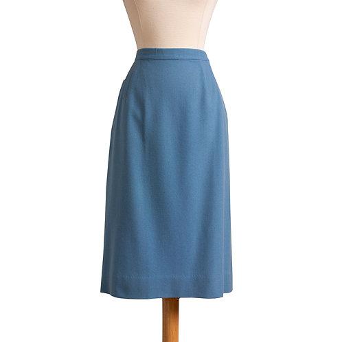 1950s Wool Pencil Skirt by Bernhard Altmann