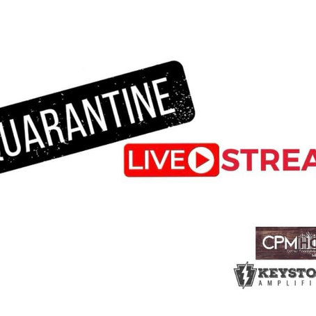 Quarantine LIVESTREAM Performance by Eternal Frequency Hosted by the CPMHOF!