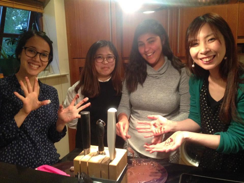 Japan + Korea + Brazil = really good food!