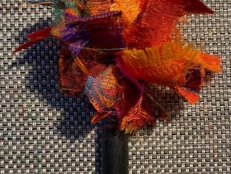Stoffbommel am Kuli- einfach erklärt für Kinder
