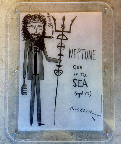 Neptune, God of the Sea (aged 23)