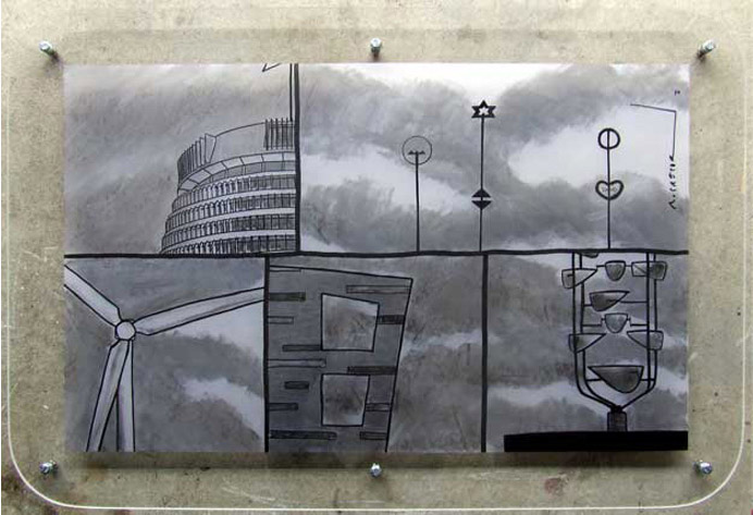 Wellington Montage in Full Overcast