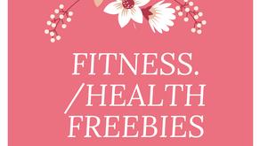 FITNESS/DIET Health FREEBIES♡♡♡