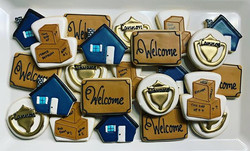 Housewarming Party Cookies - design insp